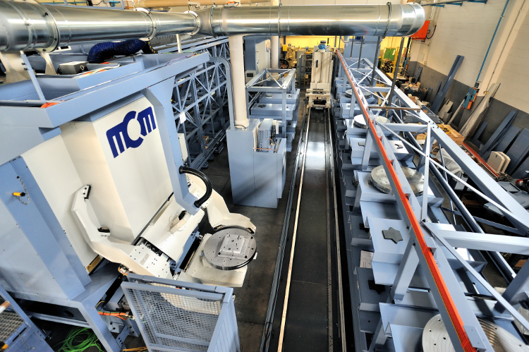 MCM; MCM Spa; Italien; MATSUURA; Produktionssysteme;